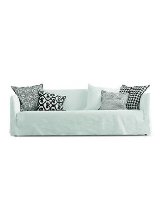 首图 –点击放大 - GERVASONI - Ghost 12实木布艺靠垫沙发
