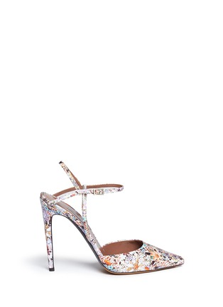Main View - Click To Enlarge - TABITHA SIMMONS - 'Valentina' dizzy floral print silk pumps