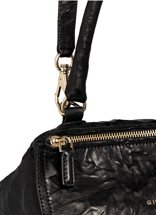 Detail View - Click To Enlarge - Givenchy - 'Pandora' small crinkle leather bag