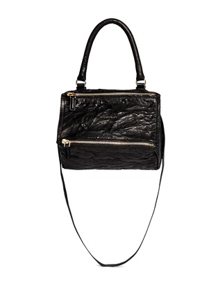 Main View - Click To Enlarge - Givenchy - 'Pandora' small crinkle leather bag
