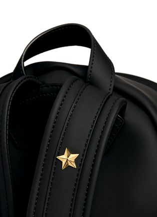 Detail View - Click To Enlarge - Givenchy - Rubberised leather backpack