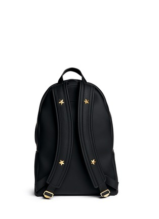 Back View - Click To Enlarge - Givenchy - Rubberised leather backpack