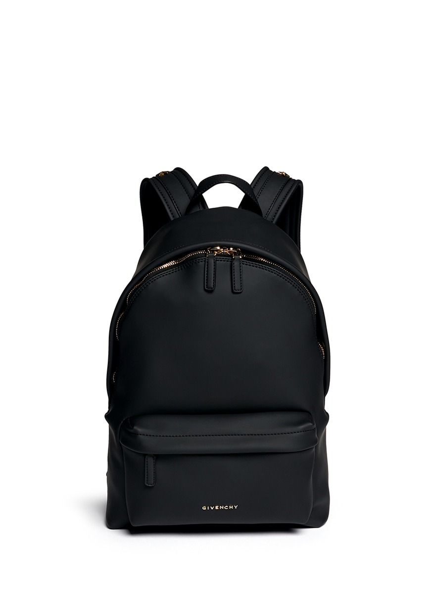 Branded Leather Backpack - Crazy Backpacks
