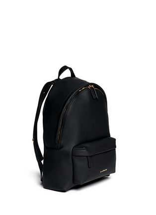 Figure View - Click To Enlarge - Givenchy - Rubberised leather backpack