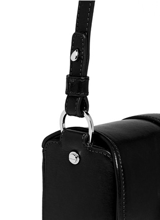 Detail View - Click To Enlarge - Givenchy - 'Obsedia' leather crossbody bag