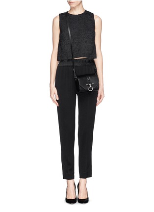 Figure View - Click To Enlarge - Givenchy - 'Obsedia' leather crossbody bag