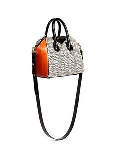 GIVENCHY'Antigona' mini snakeskin satchel