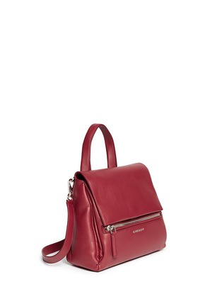 Givenchy - 'Pandora Pure' small leather flap bag