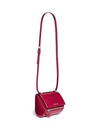 Figure View - Click To Enlarge - Givenchy - 'Pandora Box' mini leather bag