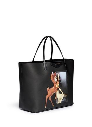 Front View - Click To Enlarge - Givenchy - 'Antigona' large Bambi print tote