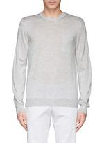 Pocket silk-cashmere sweater