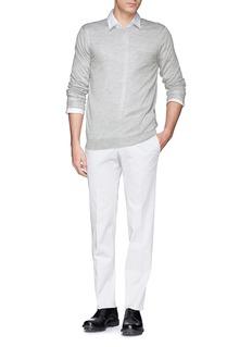 FAÇONNABLEPocket silk-cashmere sweater