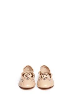SAM EDELMAN'Felicia' leather ballet flats