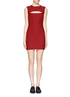 ELIZABETH AND JAMES 'Braden' cutout chest panel dress