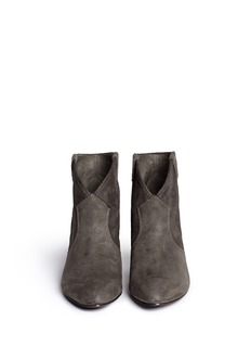 ASH Jalouse' brushed suede ankle boots