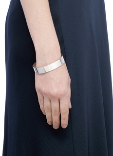 Le Gramme 'Le 45 Grammes' polished sterling silver cuff