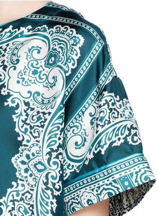 Detail View - Click To Enlarge - F.R.S For Restless Sleepers - 'Elettra' bandana print silk pyjama set