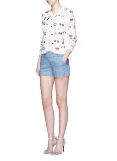 ALICE + OLIVIA'Kelsie' bead embroidery cardigan