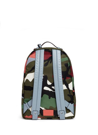 Back View - Click To Enlarge - Valentino - 'Camupsychedelic' nylon backpack