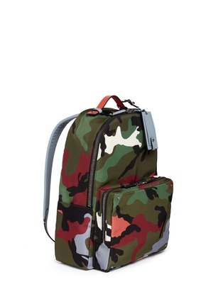Figure View - Click To Enlarge - Valentino - 'Camupsychedelic' nylon backpack