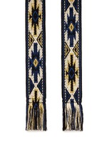 'Upton' woven ethnic carpet belt