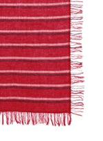 'Ayet' stripe wool-cashmere scarf