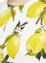 Lemon print cady top