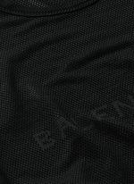 Ajoure logo mesh T-shirt