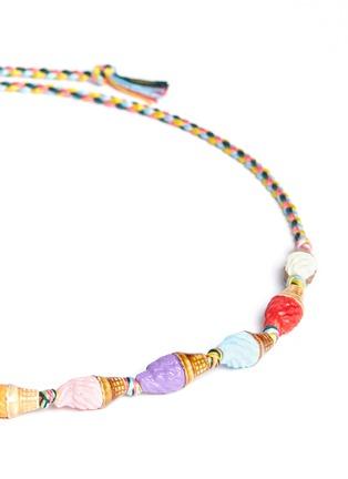 Detail View - Click To Enlarge - Venessa Arizaga - 'Ice Cream 4 U' necklace