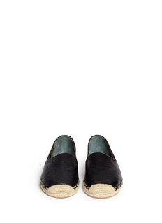 SAM EDELMAN'Lynn' leather espadrilles