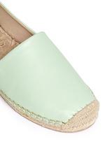 'Lynn' leather espadrilles
