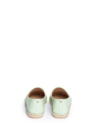 Back View - Click To Enlarge - Sam Edelman - 'Lynn' leather espadrilles