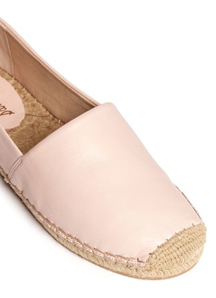 Detail View - Click To Enlarge - Sam Edelman - Lynn' leather espadrilles