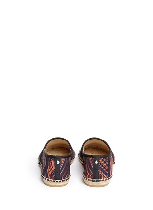 Back View - Click To Enlarge - Sam Edelman - 'Lynn 1' woven Aztec pattern espadrilles