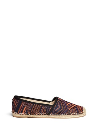 Main View - Click To Enlarge - Sam Edelman - 'Lynn 1' woven Aztec pattern espadrilles