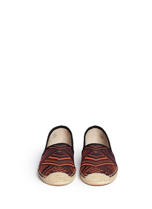Figure View - Click To Enlarge - Sam Edelman - 'Lynn 1' woven Aztec pattern espadrilles
