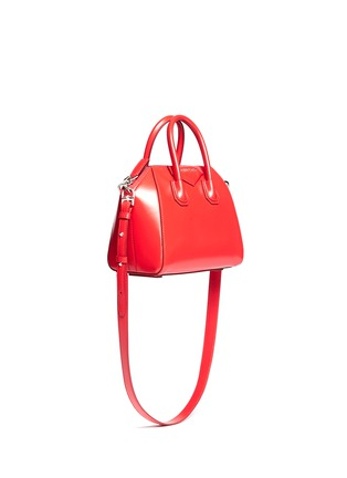 Front View - Click To Enlarge - Givenchy - 'Antigona' mini leather bag