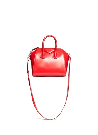 Main View - Click To Enlarge - Givenchy - 'Antigona' mini leather bag