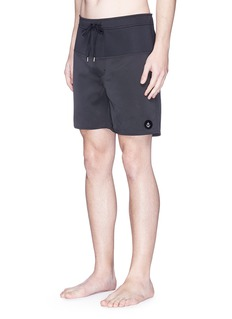 Insted We Smile 'Neo' neoprene panel surf shorts