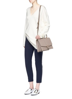 Haerfest 'Agnes' cowhide leather crossbody satchel