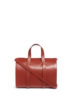 Haerfest 'Eileen' cowhide leather Boston bag
