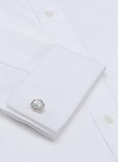 Lanvin Hexagon cufflinks