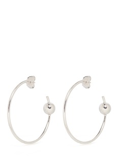 Maria Black 'Orion Maxi' pierced hoop sterling silver earrings