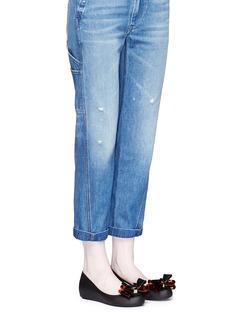 Melissa'Ultragirl Sweet XII' bow PVC flats