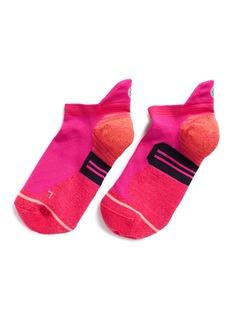 STANCE'Painted Low' stripe reinforced heel performance socks