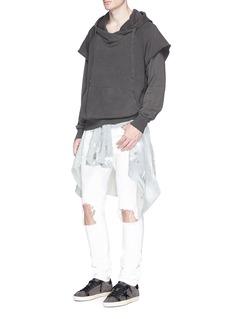 NSF'Kip' sleeve underlay hoodie