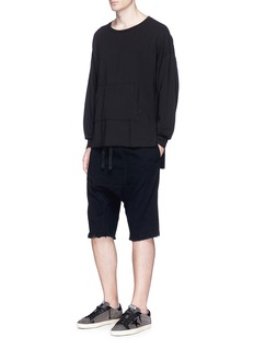NSF 'Eli' high-low hem sweatshirt