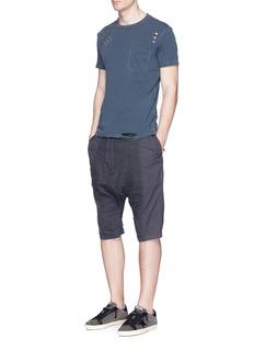 NSF'Paulie' ripped slub jersey T-shirt