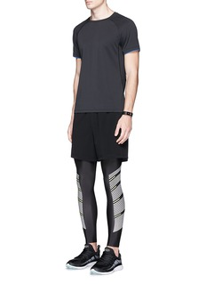 Particle Fever Drawstring stretch performance running shorts