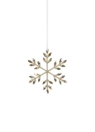 Main View - Click To Enlarge - Shishi As - Beaded snowflake Christmas Ornament